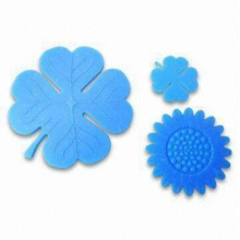Soft PVC Silicone Coasters in Various Shape (Coaster-08)