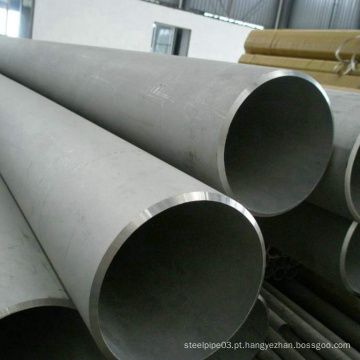 Tubo sem costura industrial ASTM A312 de aço inoxidável