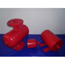 Revestimiento de epoxi Válvula de limpieza para aire y suciedad Pn16