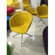 Arte cadeira, cadeira de Lobby, cadeira pública, cadeira de couro (XT03)