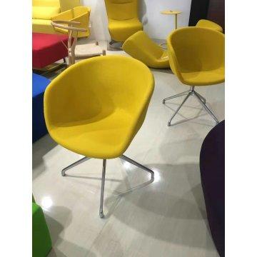 Art Stuhl, Lobby, öffentlichen Stuhl, Leder (XT03)
