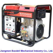 Générateur diesel à refroidissement par eau à usage domestique (BZ10000S)