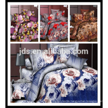 3D 100% polyester printed fabric for home