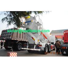 Caminhão do misturador concreto de Sinotruk HOWO de 6x4 8cube (ZZ1257N3641 / SOBA)