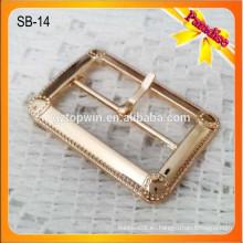 SB14 Estilo clásico pin zapato hebilla de metal hebilla de metal blet hebilla de piezas