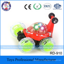 Mini RC Remote Control Toys Stunt Car Truck Radio Electric Dancing Dump Car Drift Model Rolling Rotating Wheel Vehicle Motor Toy