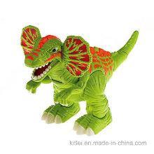 Festival de decoración de fábrica de China impresa de dibujos animados de vinilo de juguete de plástico de dragón