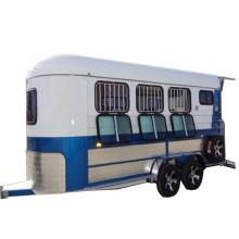 china gooseneck horse trailer with door