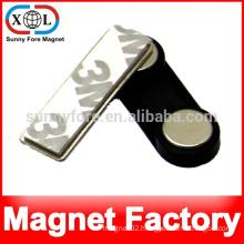 name badge holder magnet