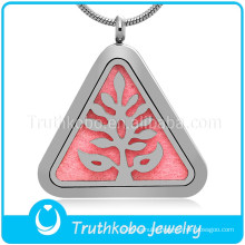 Hot sale diffuser jewelry stainless steel jewelry essential oil diffuser necklace