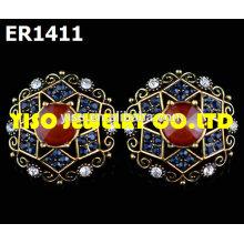 designer stud rhinestone earrings