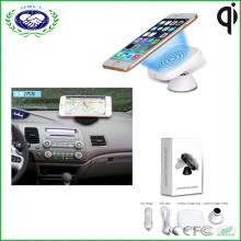Neue drahtlose Auto-Aufladeeinheits-Magnet Qi drahtlose Telefon-Aufladeeinheit benutzt im Auto