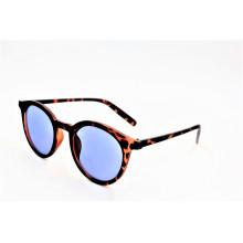 Demi gafas de sol de moda marrón con Ce certificada UV400 lentes polarizadas-16311