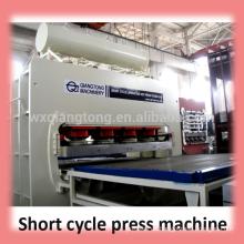 Mdf Laminiermaschine / Holzbasierte Tafelmaschinen / Heißpresse Melamin Kaschiermaschine