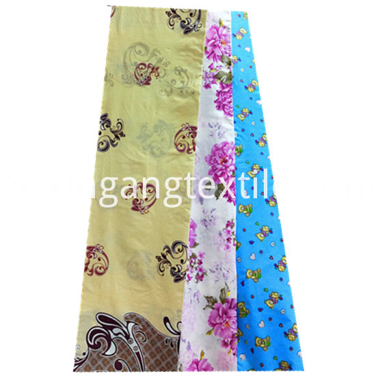 Beautiful Flower Designs Printing 100 Polyester Microfiber4