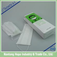 White Paper Gesichtsmaske