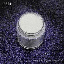 Kosmetisches weißes Regenbogen-Funkeln-Pulver