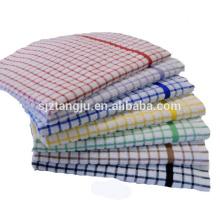 toalha de cozinha impressa feita sob encomenda do microfiber, toalha de chá de linho bordada