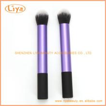 2Pcs Synthetic Cosmetic Powder Brush