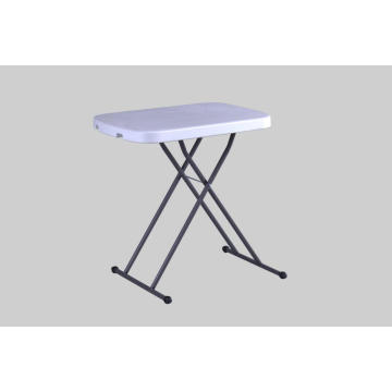 Table pliante réglable en hauteur de 66 cm Retangle