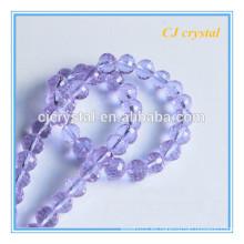 Cristal de cristal redondo de los granos de cristal de la boda decore