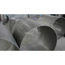 Alta qualidade ASTM B338 Gr12 liga do tubo de titânio