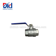 Нержавеющая сталь жаропрочный Rb Pn40 Cw617n 5-дюймовый оцинкованный 2шт резьба V шаровой клапан 2 1 2