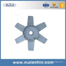 Custom Make Precision Die Casting Lame de ventilateur de refroidissement en aluminium