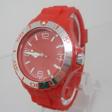 Nouvelle protection de l'environnement Japon Movement Plastic Fashion Watch Sj073-9