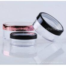 30g Kunststoff-Kosmetik-Glas mit rotierenden Sifer für Make-up-Pulver (PPC-LPJ-006)