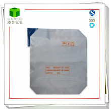 Laminated Woven PP Block Bottom Valve Bag / Putty Powder Bag
