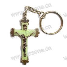 Новый стиль Светящаяся святая святых Бенедикта Брелок Религиозный металл