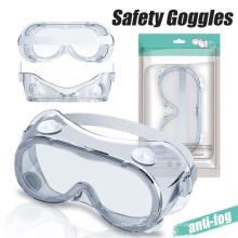 Óculos de proteção de segurança Óculos médicos anti-embaciamento