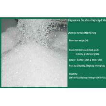 99,5% Sulfate de magnésium Heptahydrate Mgso4.7H2O