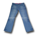 girls jeans flared trousers washed jeans