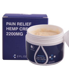 Hot Sale High Concentration 200mg CBD Hemp cream for pain and inflammation relief with private label