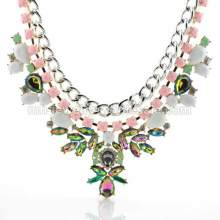 Rainbow Acrylic Beads Charming Accessories Necklace