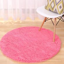 benutzerdefinierte Mikrofaser Chenille PVC Bodenmatte für das Wohnzimmer