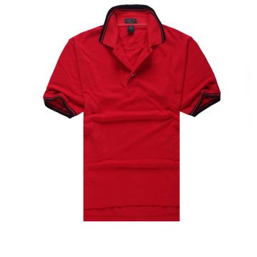 Color Combination Collar Design Polo Shirts