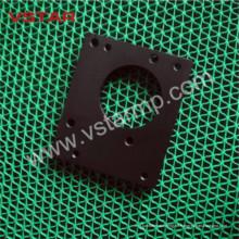Bakelitbearbeitung von kundengebundenem CNC-Maschinenteil mit schwarzen Autoteil-Aluminiumprodukten Vst-0954