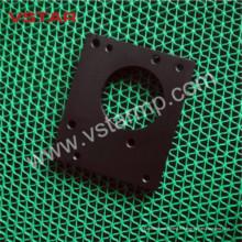 Usinage de bakélite de la partie adaptée aux besoins du client de machine de commande numérique par ordinateur avec les produits en aluminium noirs de pièce d'auto Vst-0954