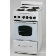 Plaque chauffante électrique autoportante de cuisinière avec ETL