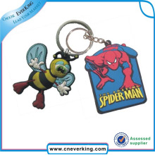 Personality Design Softer PVC 3D Keychain Made in China
