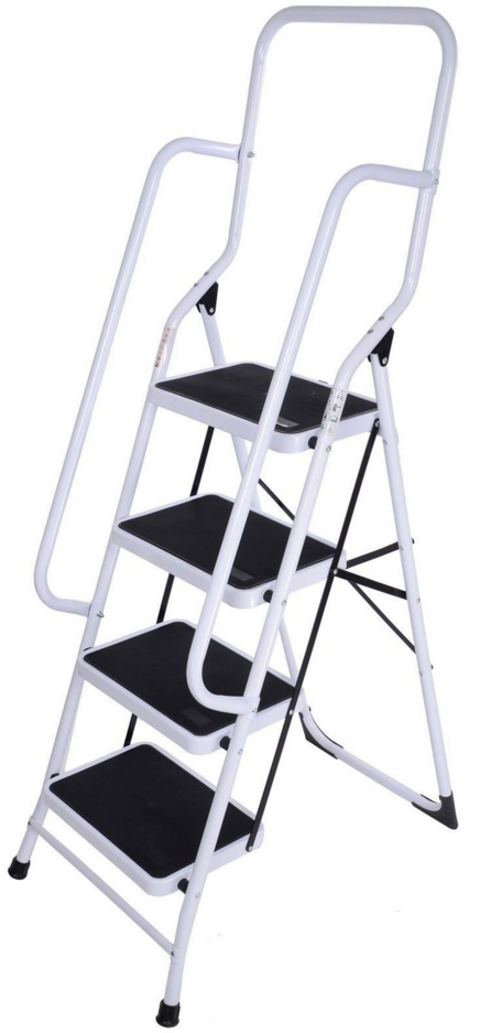 steel ladder with handrail (4)