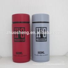 garrafa de água de aço inoxidável de parede dupla mini manter quente