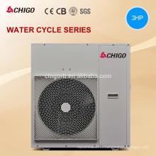 Haute température 9kw 12.9kw Multifonction source d'air pompe à chaleur chauffe-eau avec récupération de chaleur