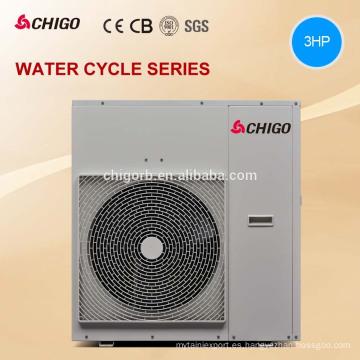 Calentador de agua multifuncional de alta temperatura de la bomba de calor de la fuente de aire 9kw 12.9kw con la recuperación de calor