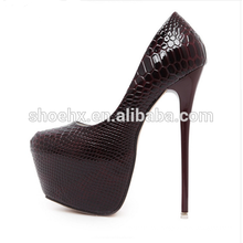 Fashion Women Round Toe Height Platform, Extreme High Heels Shoes, 16CM Snake Sexy Pumps Nightclub Evening Party shoes Fashion Women Round Toe Height Platform, Extreme High Heels Shoes, 16CM Snake Sexy Pumps Nightclub Evening Party shoes