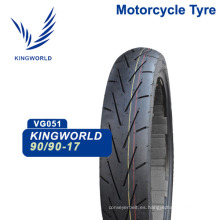 Neumático para motocicleta sin cámara Guatemala Tl 90/90/17