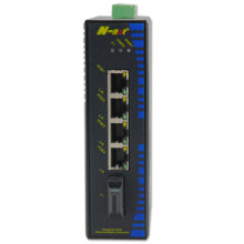 Commutateur fibre optique Fast Ethernet 5 ports